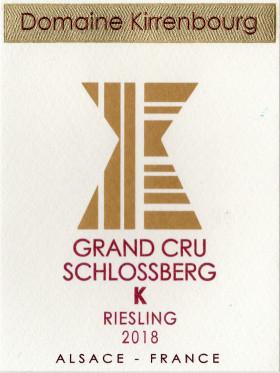 Riesling - Grand Cru Schlossberg K 2018