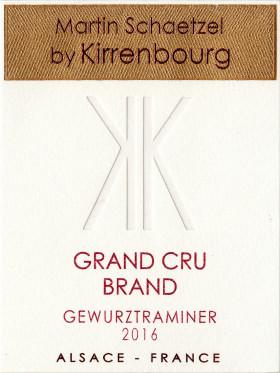 Gewurztraminer - Grand Cru Brand 2016