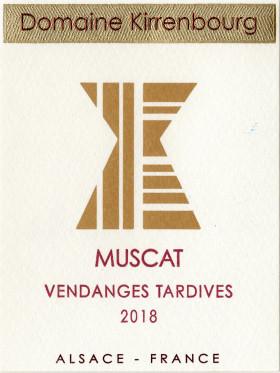 Muscat - Vendanges Tardives 2018