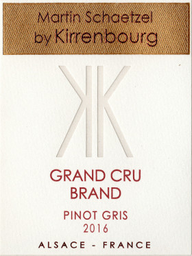 Pinot Gris - Grand Cru Brand 2016