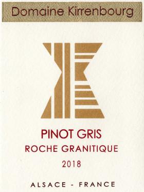 Pinot Gris - Roche Granitique 2018