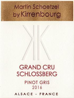 Pinot Gris - Grand Cru Schlossberg 2016