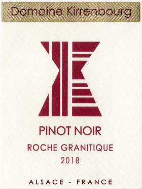Pinot Noir - Roche Granitique 2018