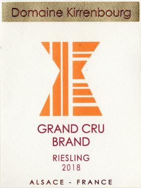Riesling - Grand Cru Brand 2018