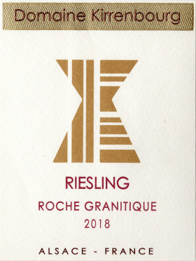 Riesling - Roche Granitique 2018